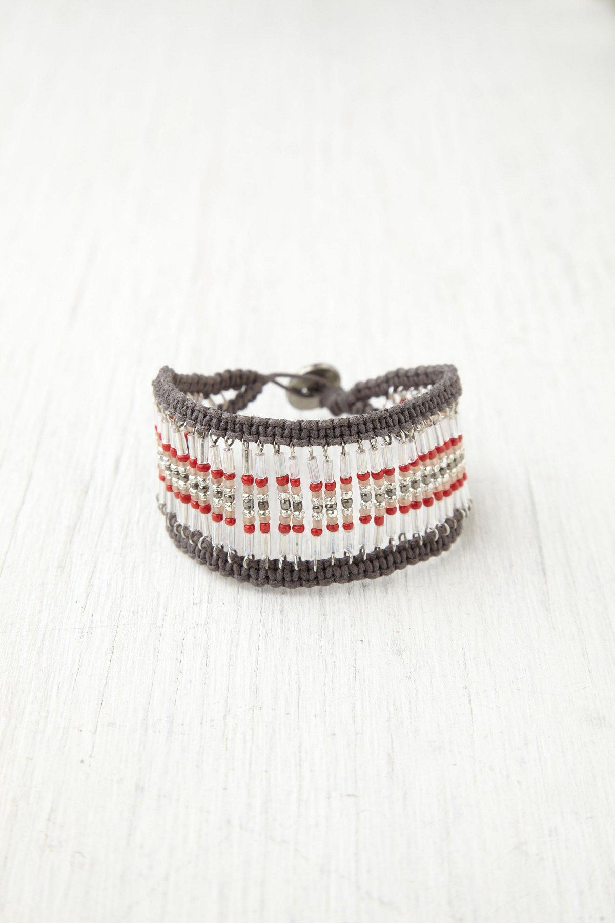Soft Bead Armadillo Bracelet