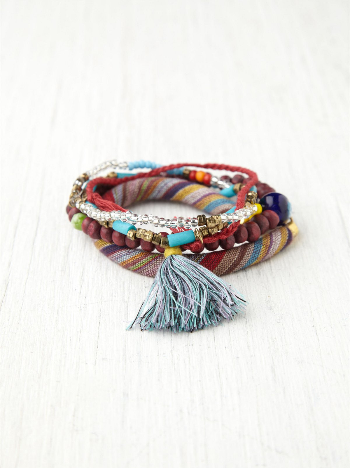Anna Mixed Bead Wrap