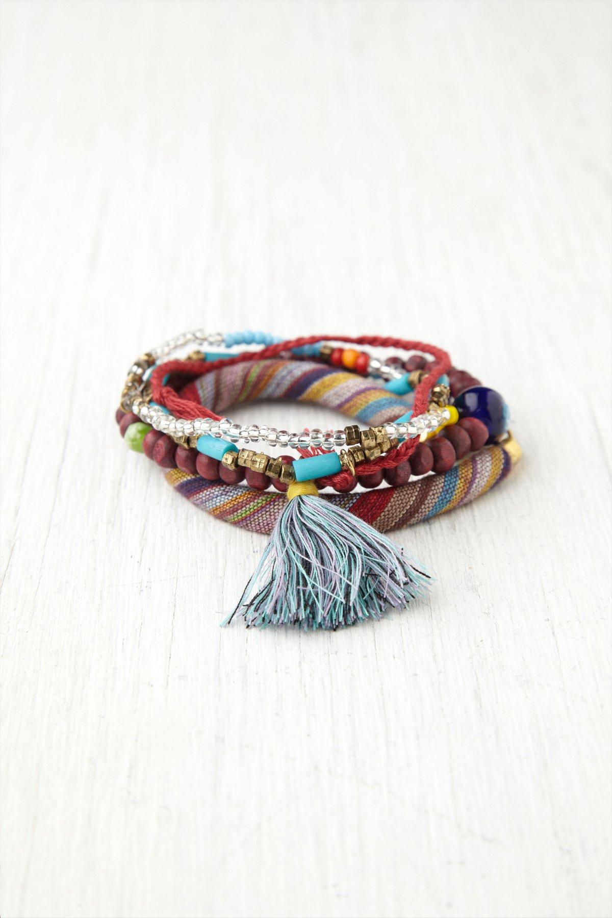 Anna Mixed Bead Wrap