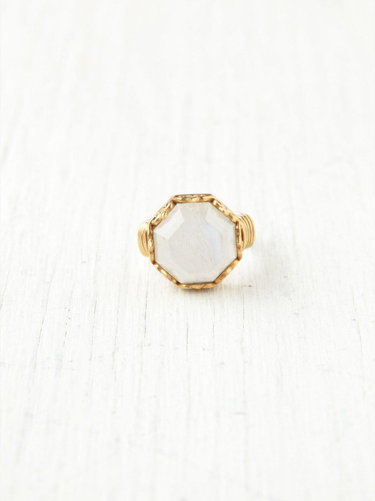 Octagonal Monarch Ring