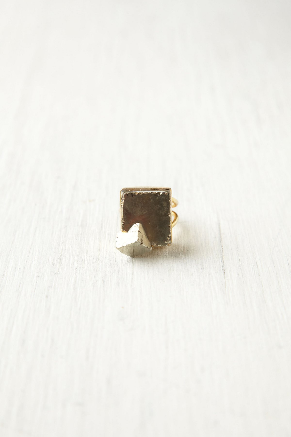 Pyrite Nugget Ring