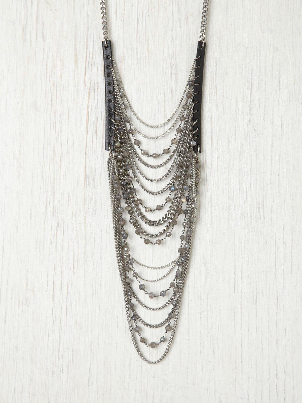 Eclipse Ladder Necklace
