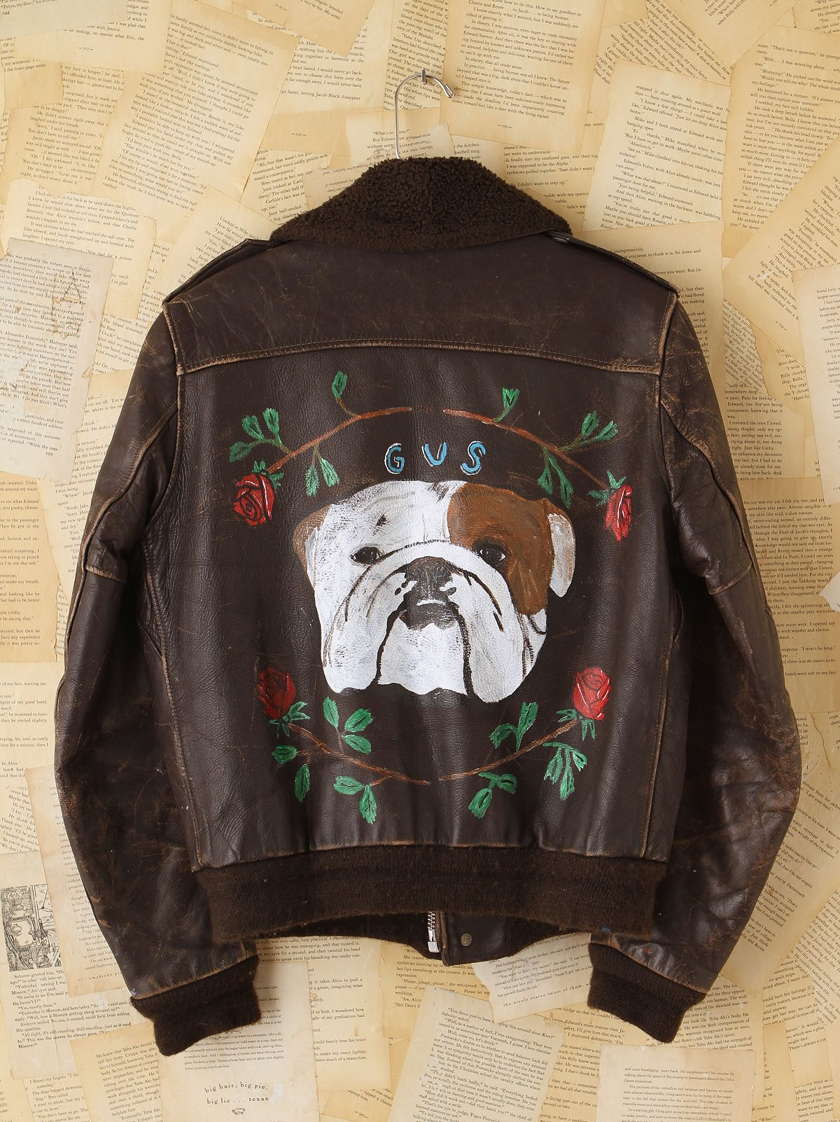 Vintage John David Mahaffey Hand-Painted Jacket