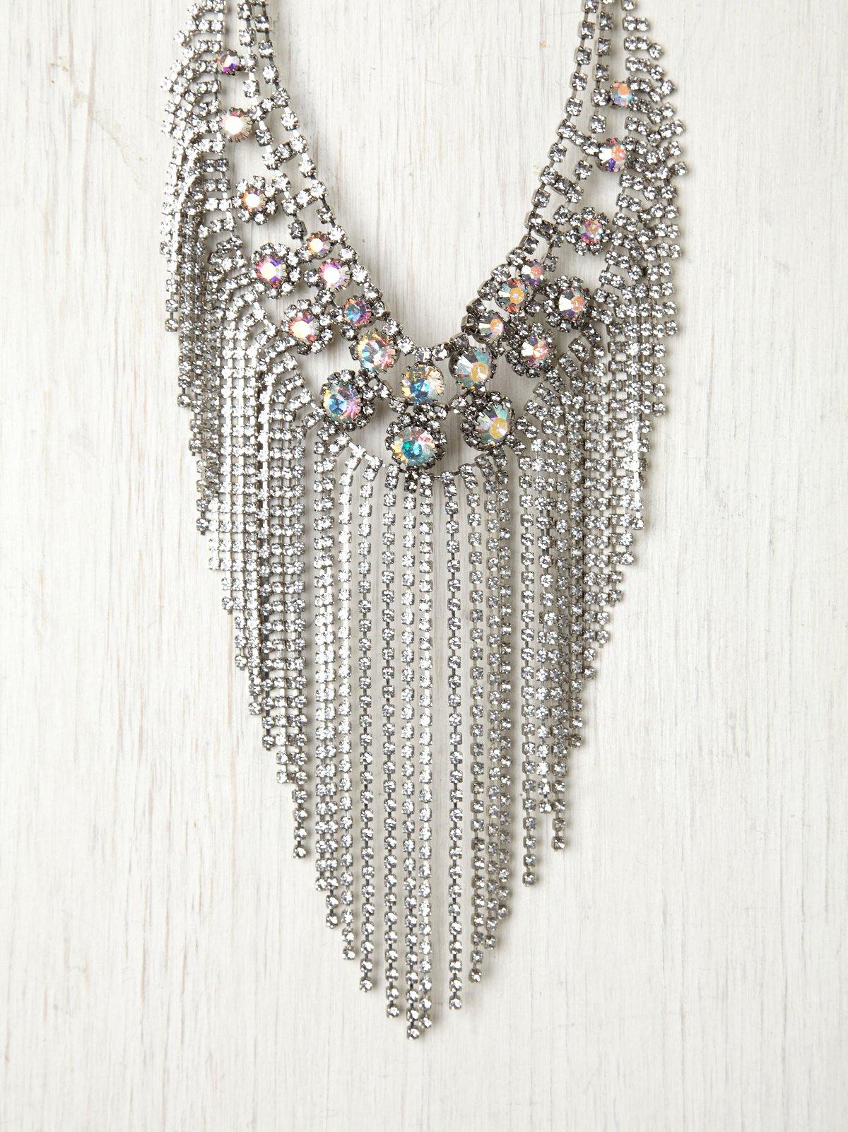 Anoushka Fringe Necklace