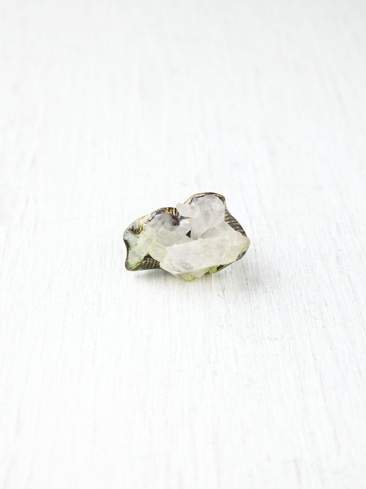 Quartz Dagger Ring