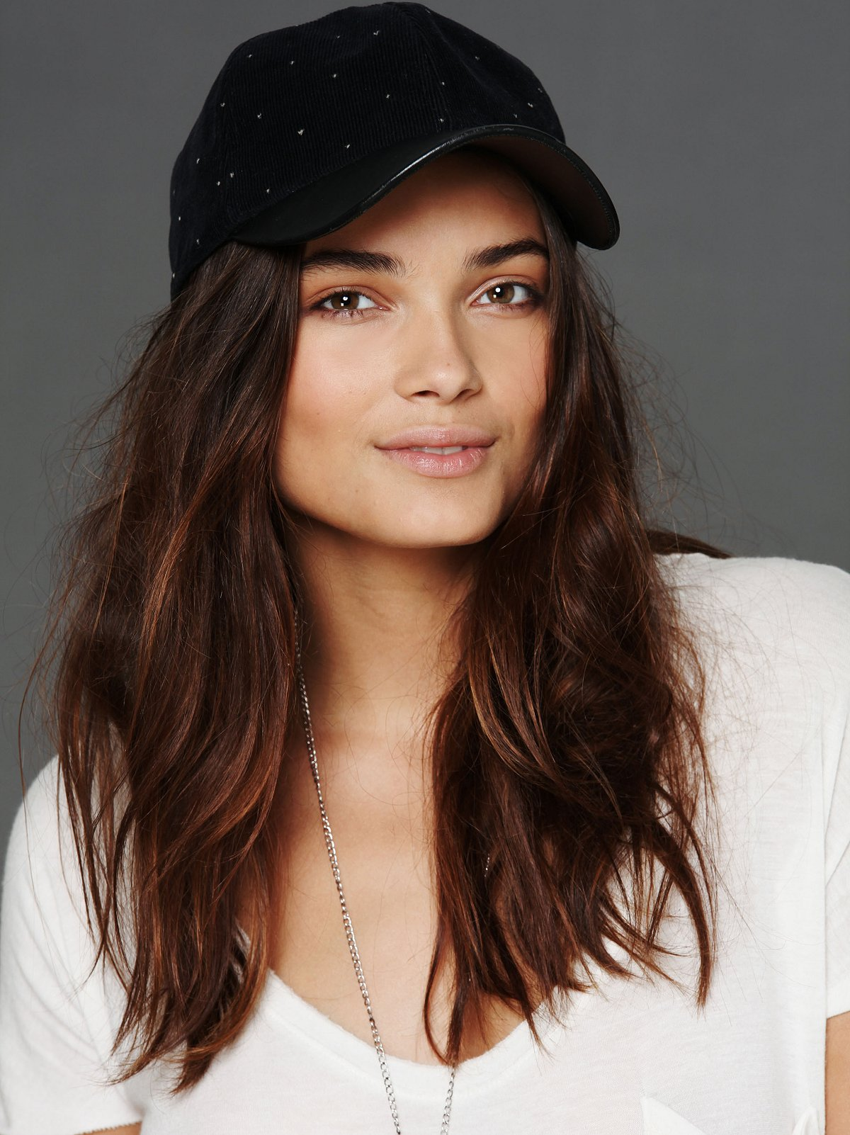 Leather Brimmed Hat