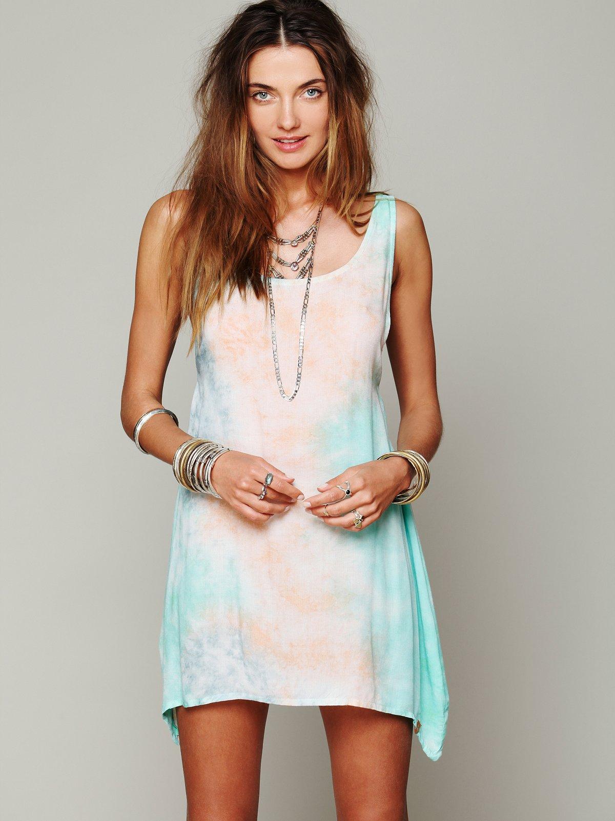 Key Largo Tie Dye Dress