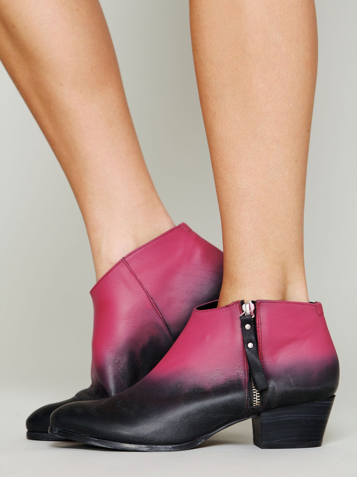 Dip Dyed Ankle Boot