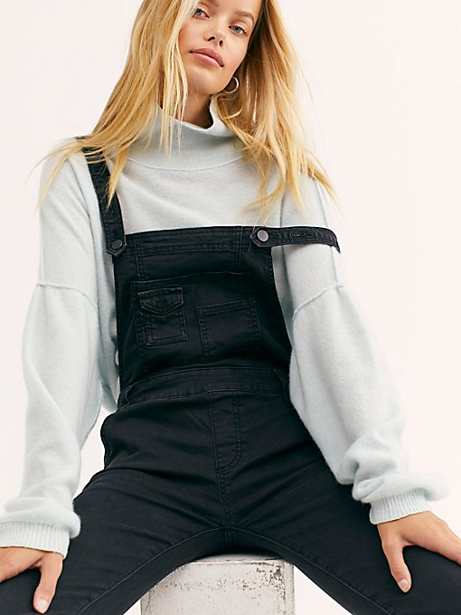 Product Image: Washed Denim Dungarees