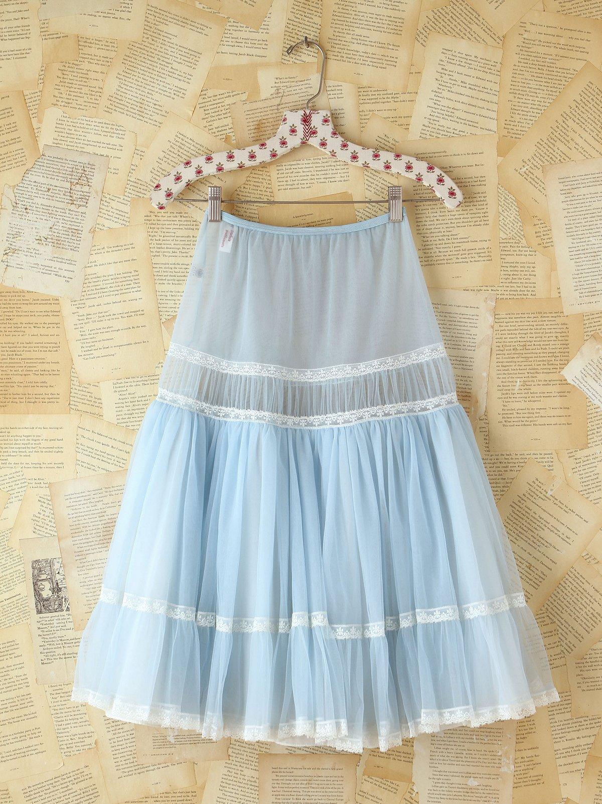 Vintage 1950s Tulle Skirt