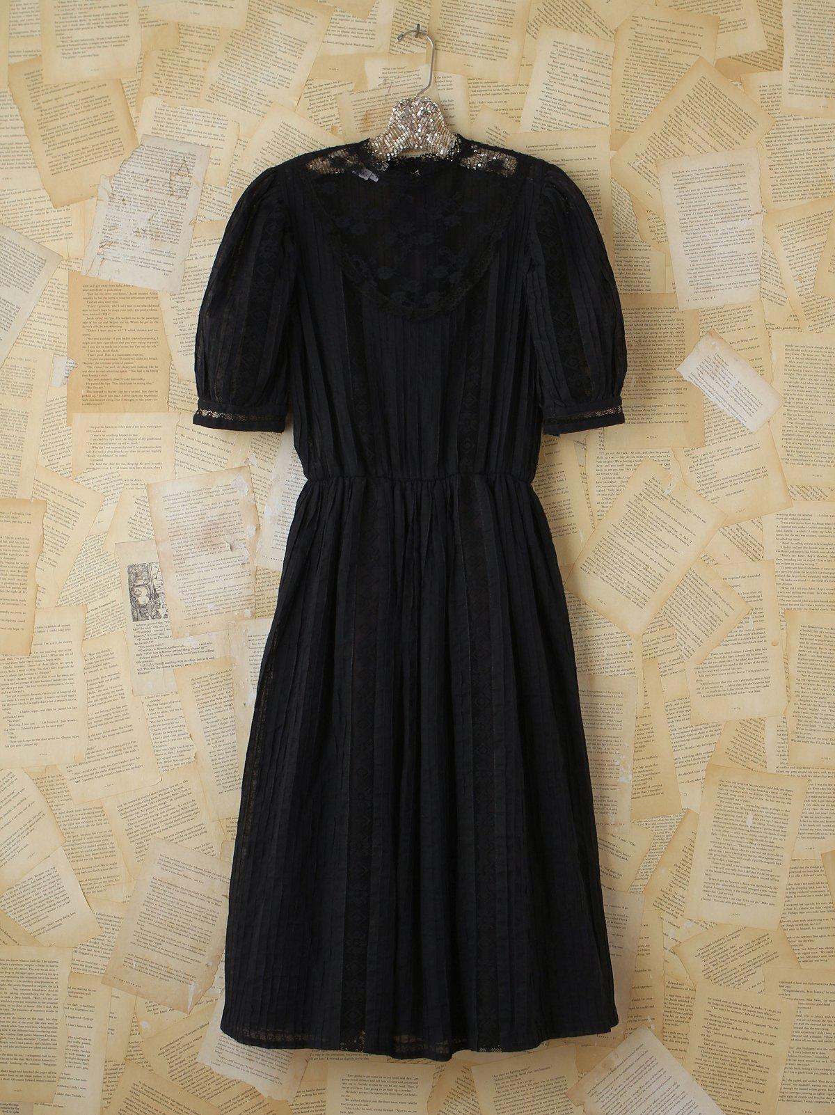 Vintage Lace Bib Dress