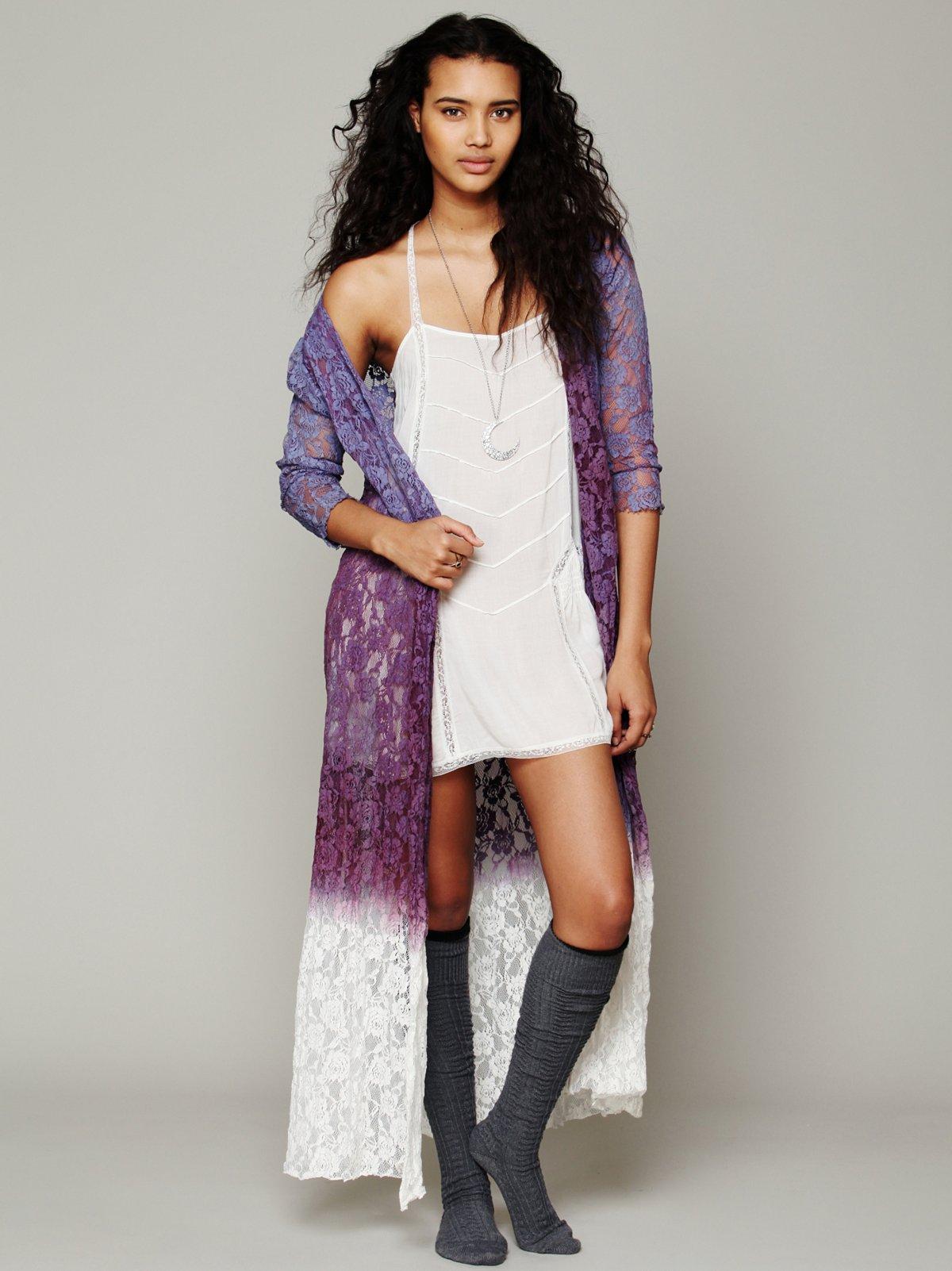 FP ONE Dip Dye Lace Robe