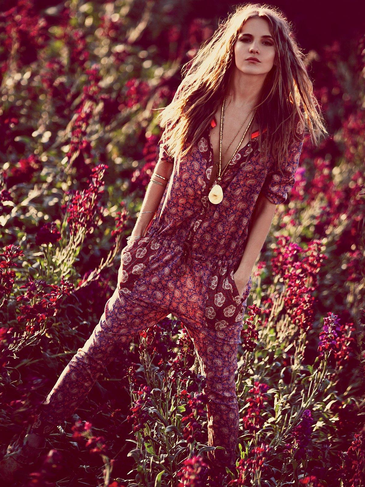Mixed Florals Jumpsuit