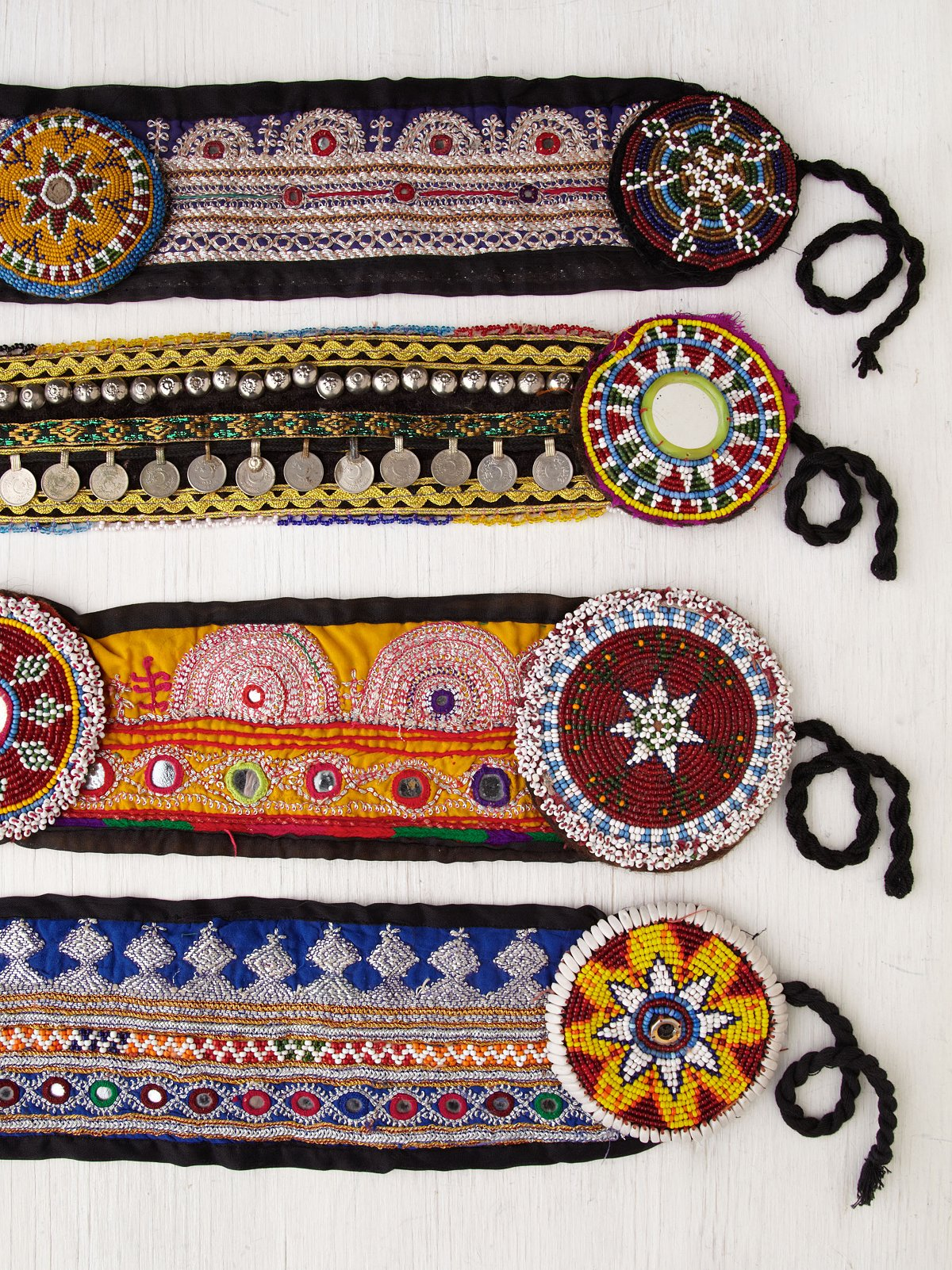 Lotus Tapestry Belt