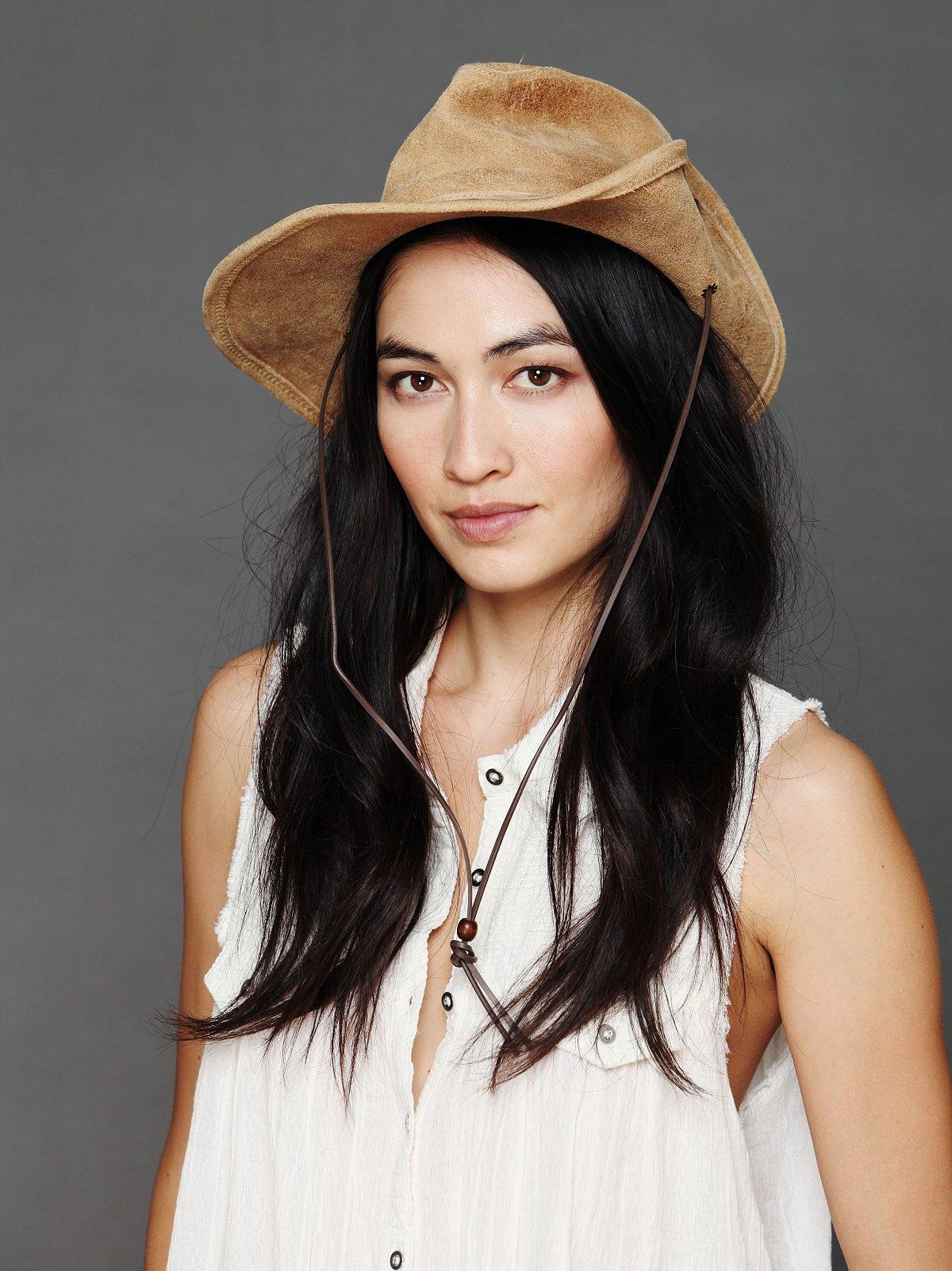 Aussie Suede Hat