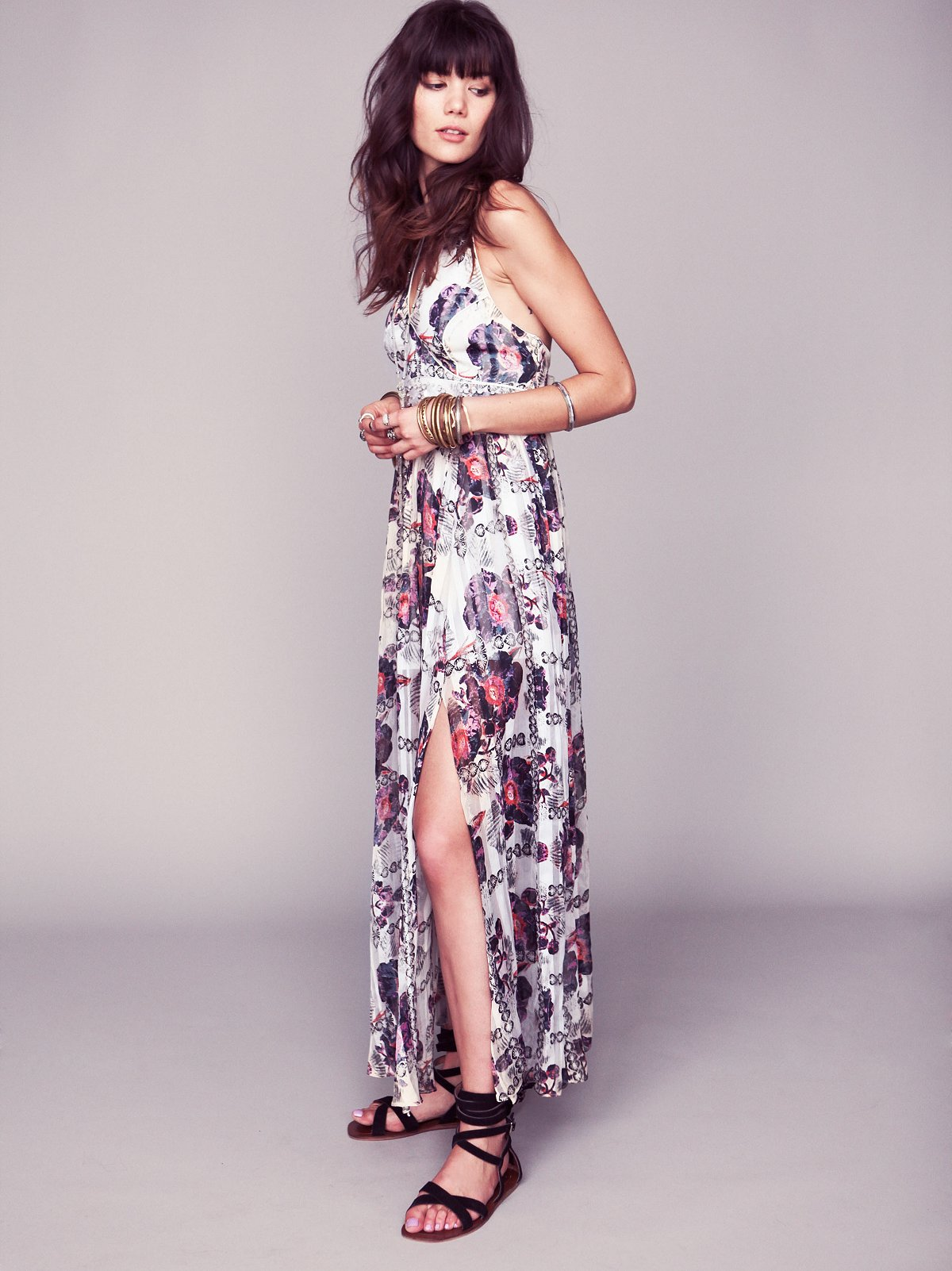 FP New Romantics Flower Bomb Maxi Dress