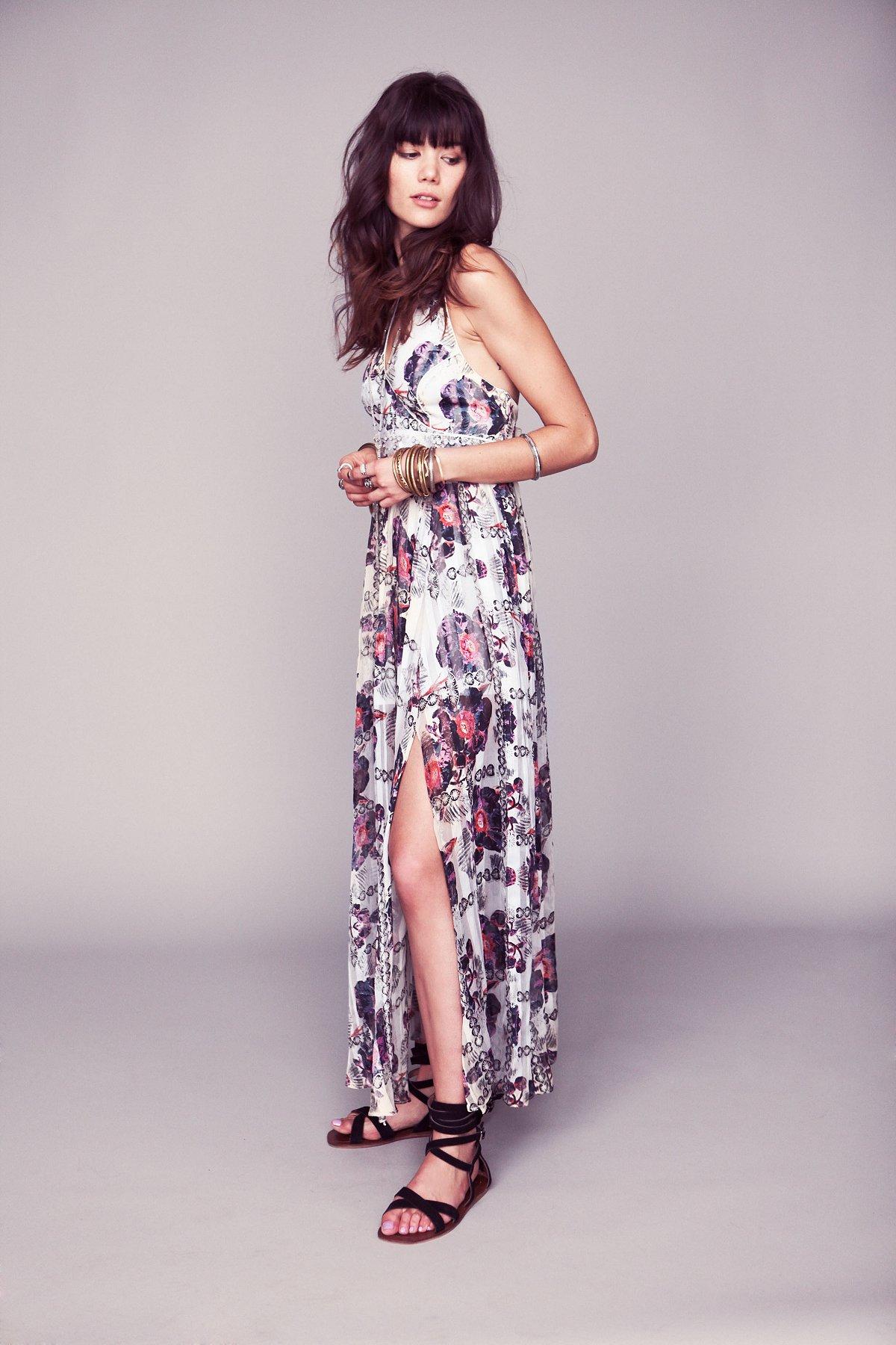 FP New Romantics Flower Bomb Maxi Dress