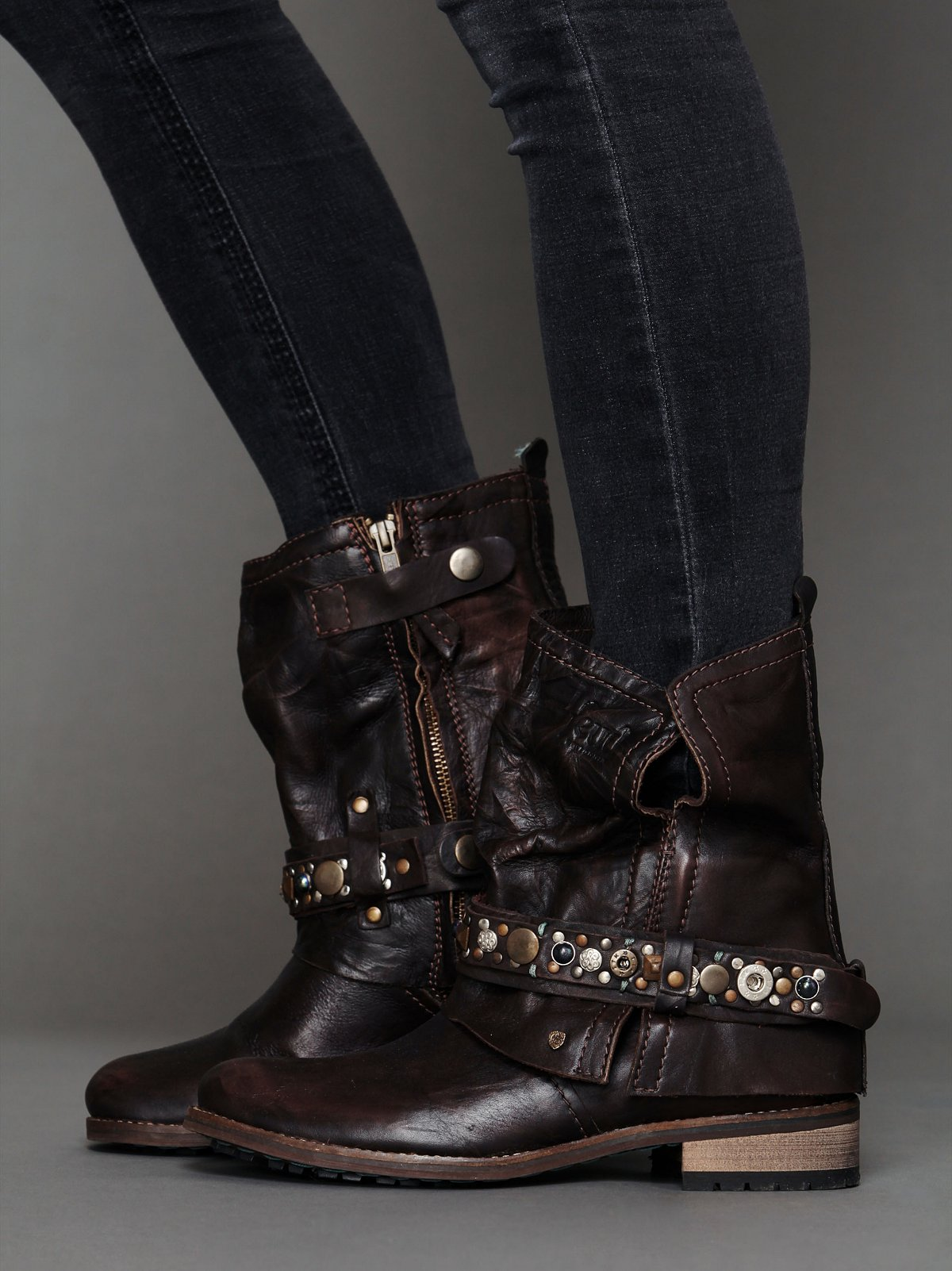 Addison Military Boot