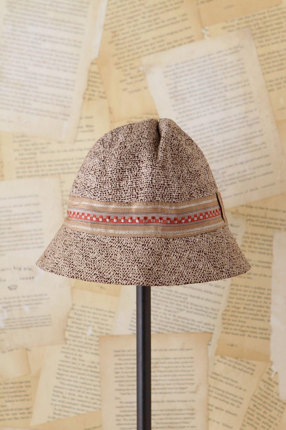Vintage Tweed Bucket Hat