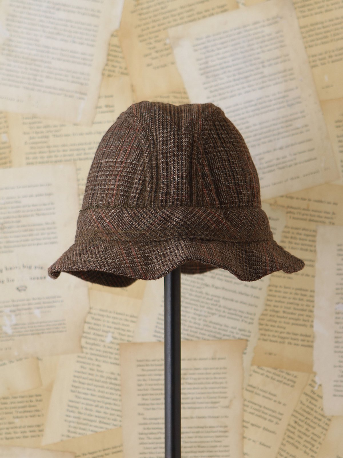 Vintage Tweed Bucket Cap