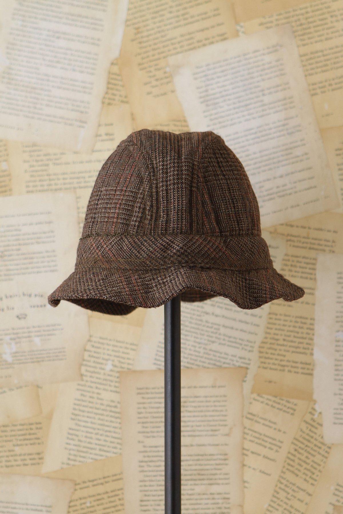 Vintage Tweed Bucket Cap