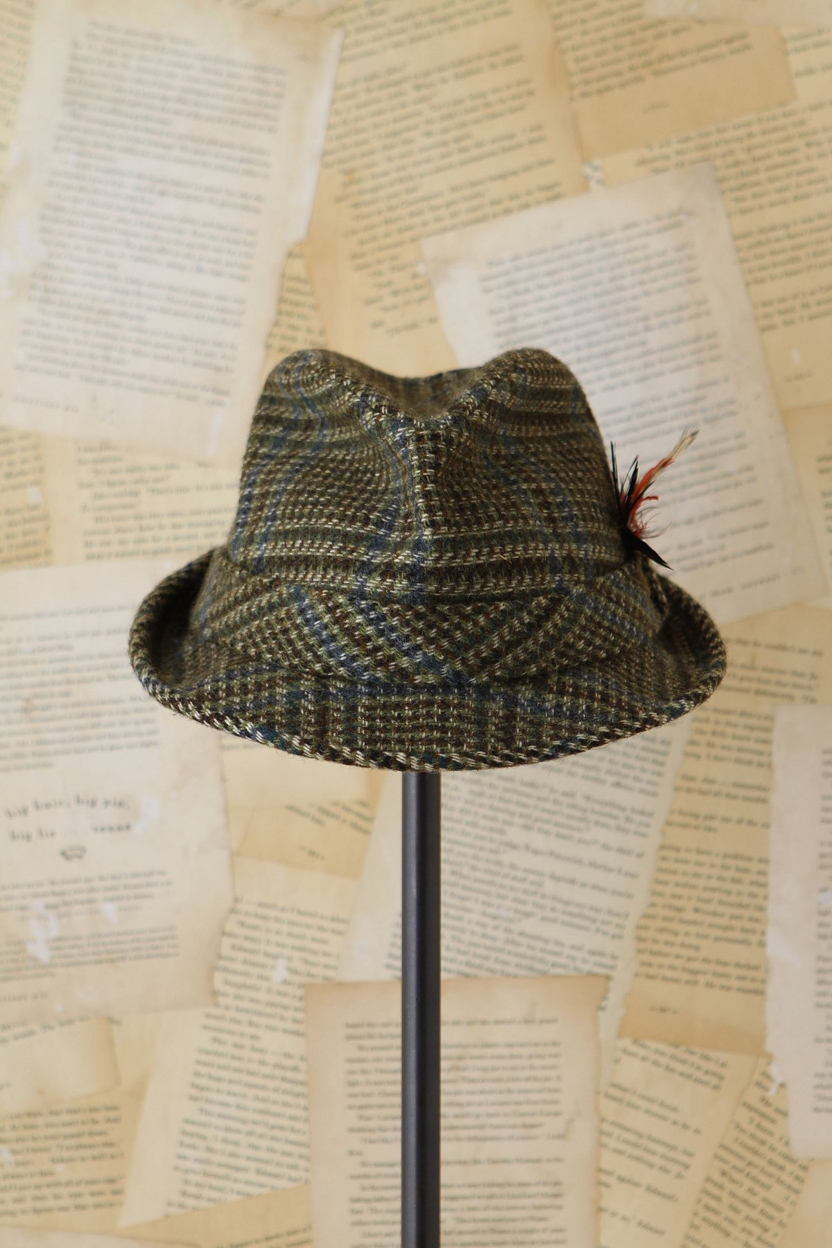 Vintage Elmer Fudd Plaid Hat