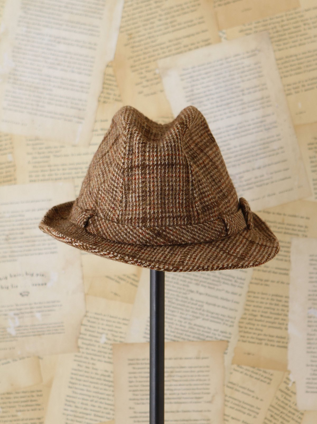 Vintage Plaid Cap