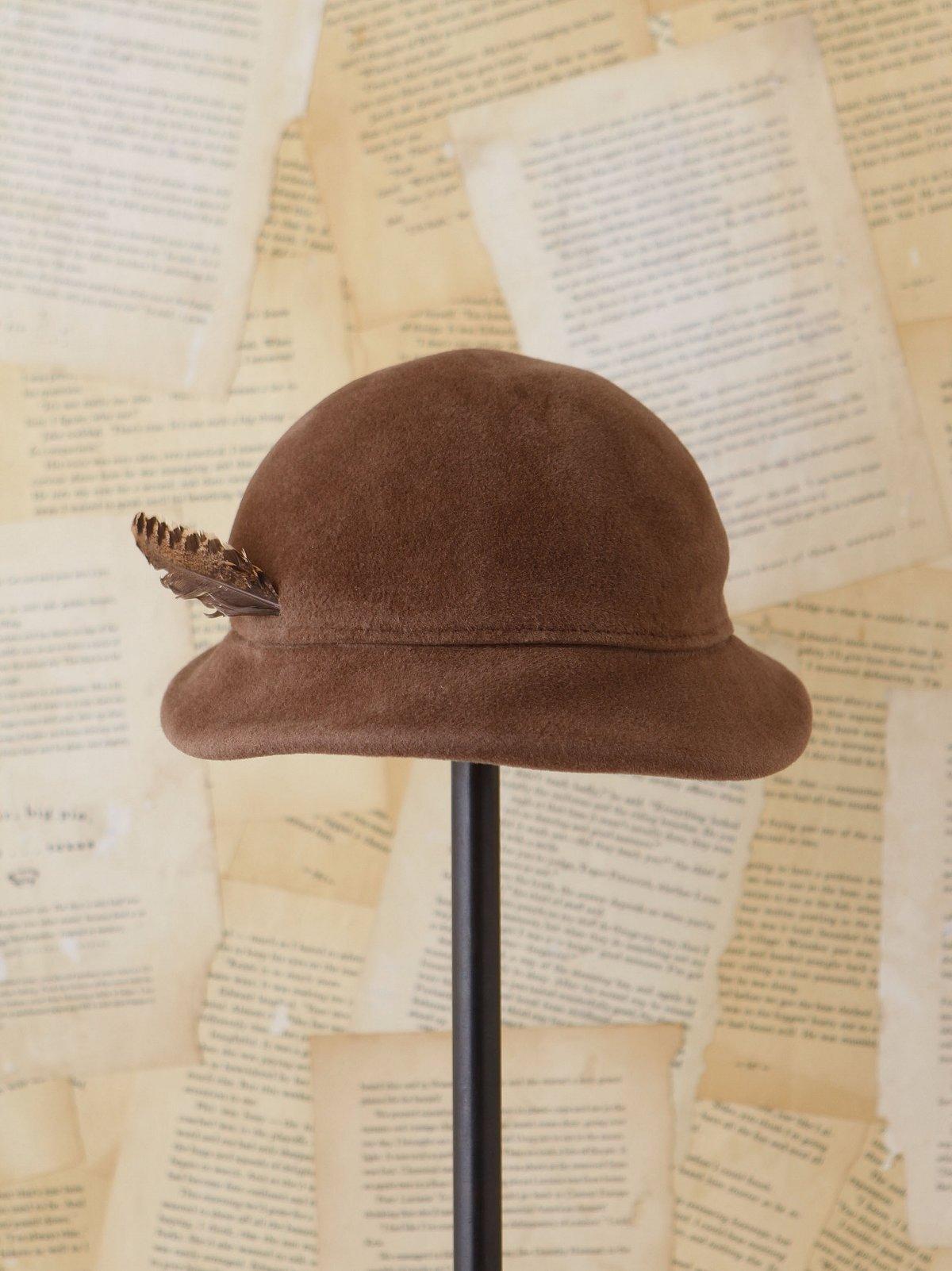 Vintage Wool Felt Hat