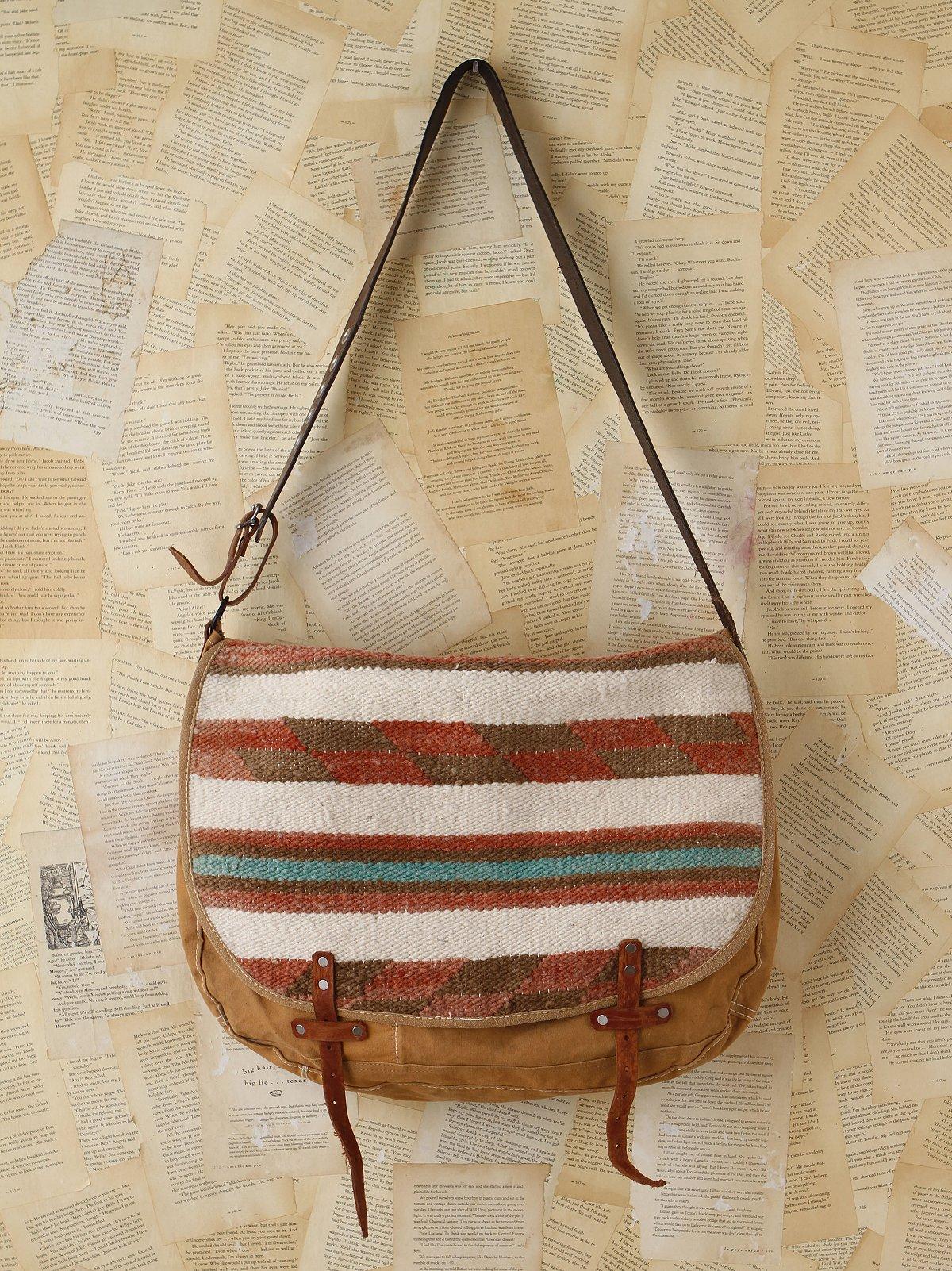 Vintage Woven Mailbag