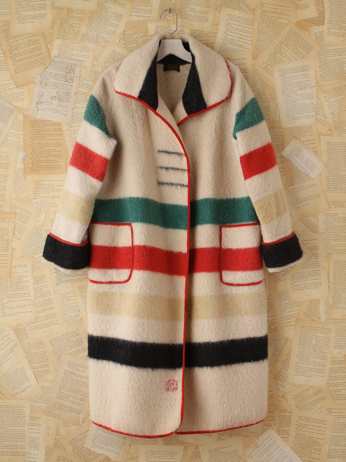 Vintage Hudson Bay Coat