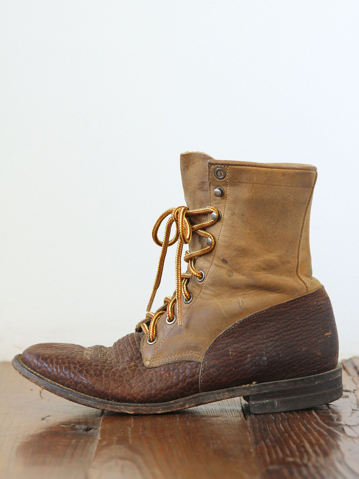Vintage Two-Tone Boots