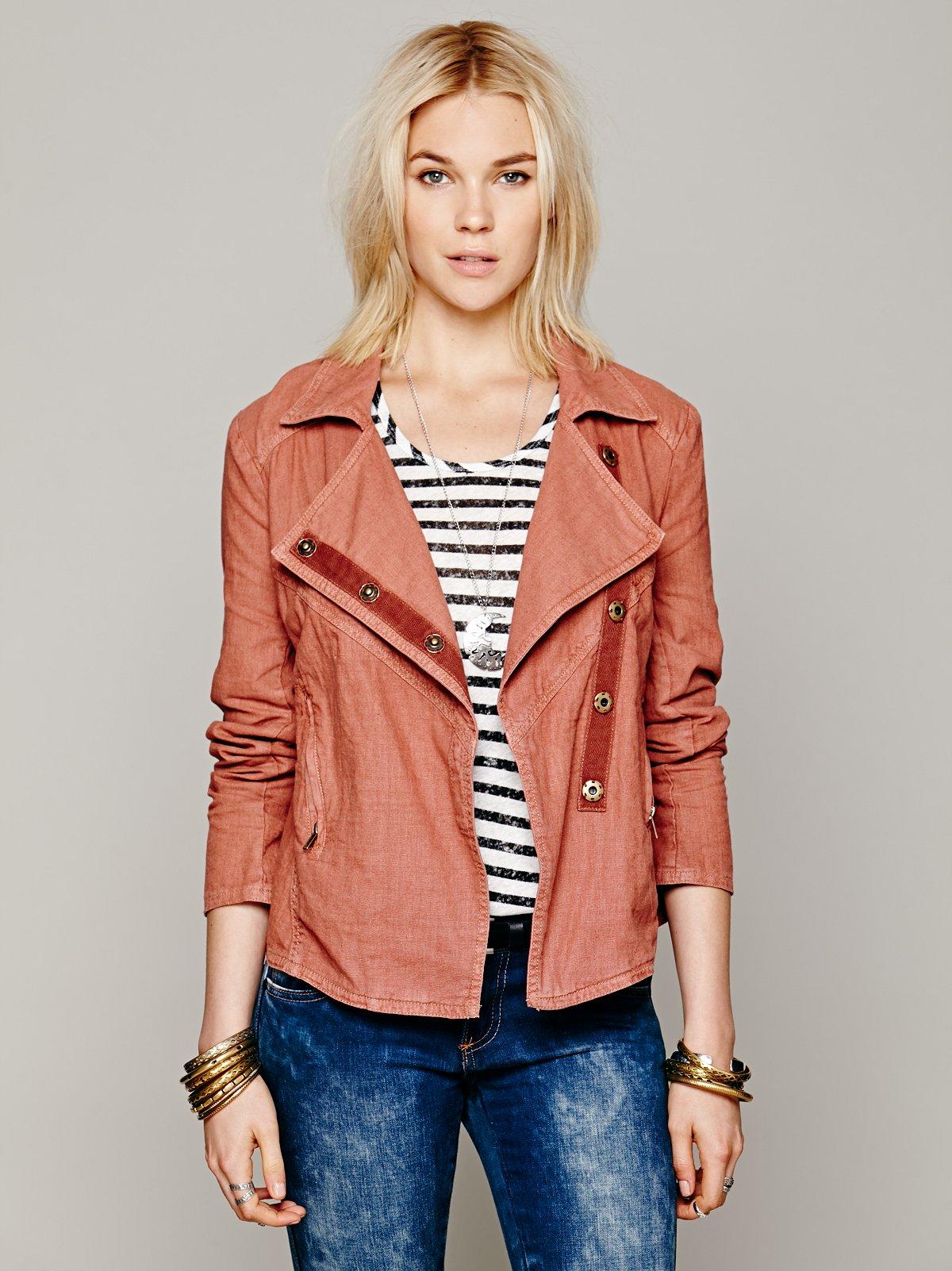 Washed Linen Jacket