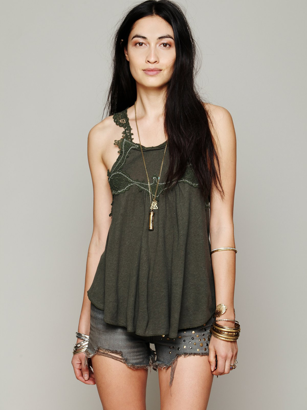 Lacy Day Tank