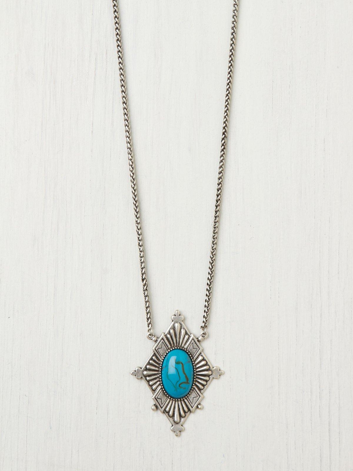 Frida Diamond Pendant