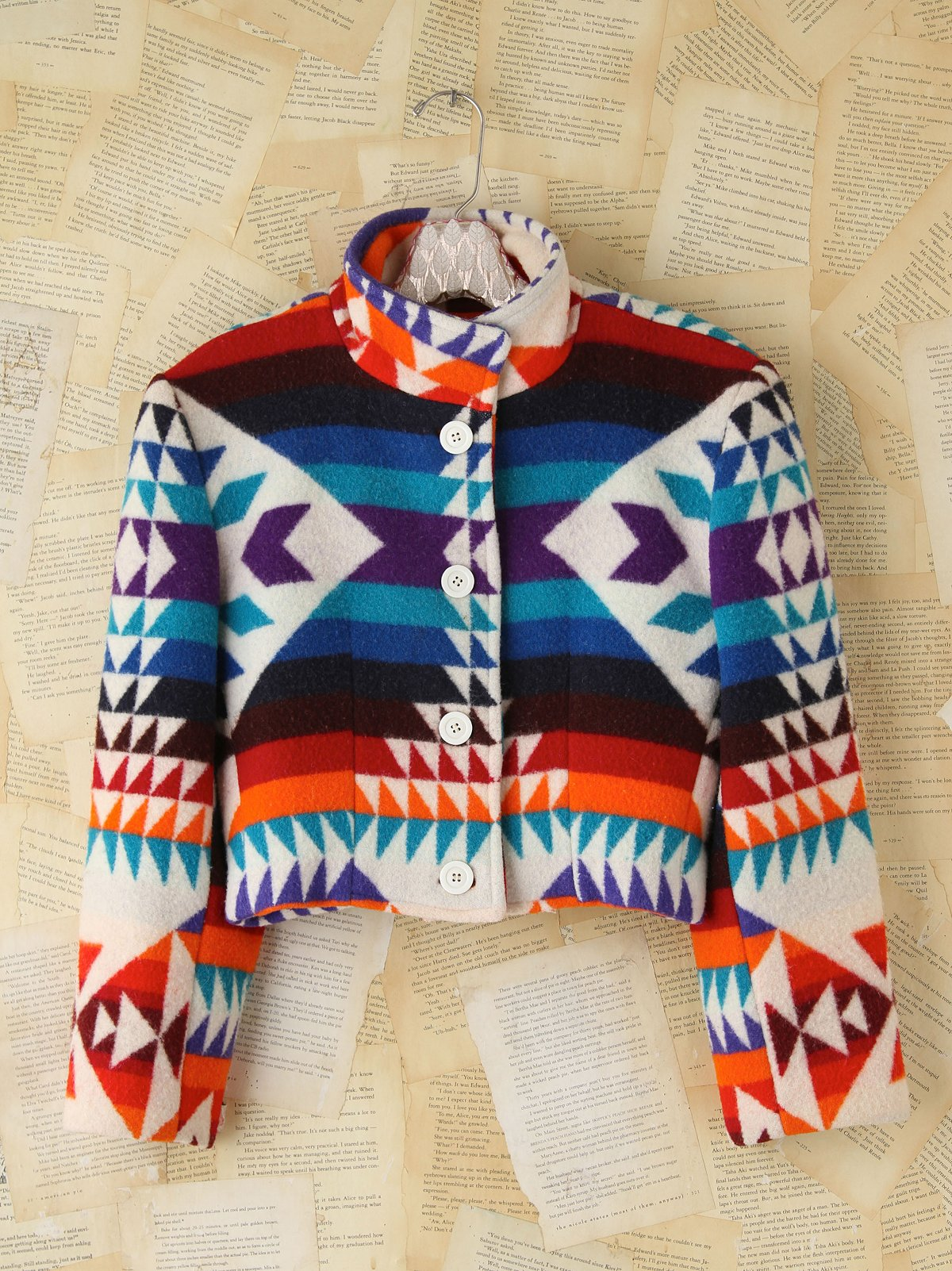 Vintage Southwestern Pattern Jacket