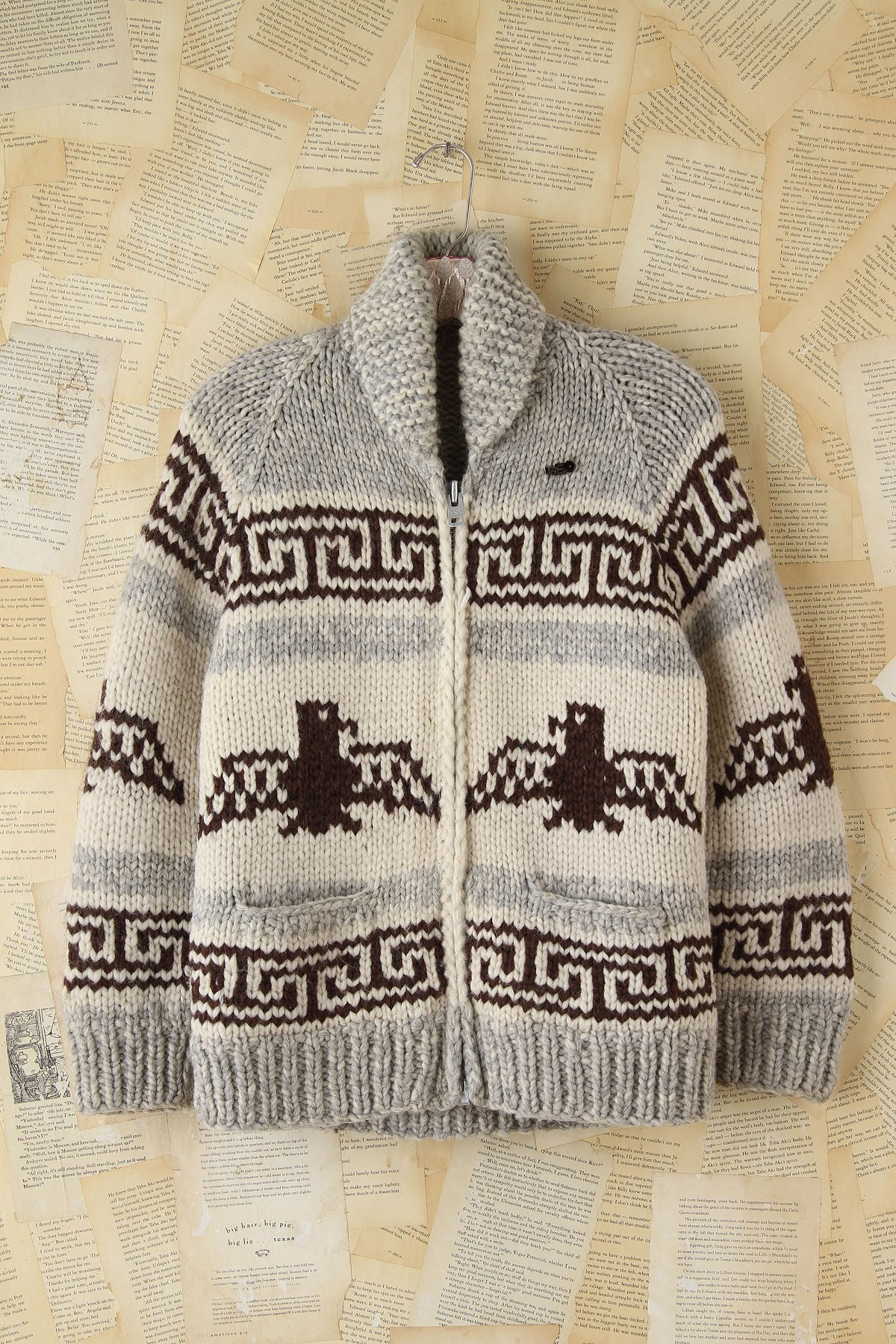 Vintage Wool Patterned Sweater