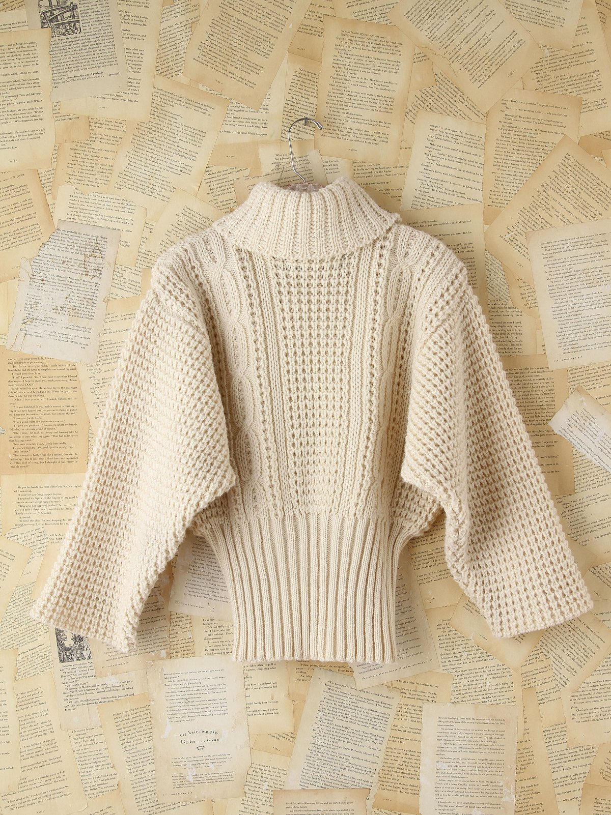 Vintage Chunky Turtleneck Sweater