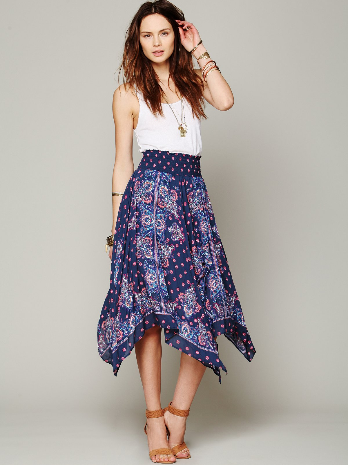 Kaleidoscope Fly Away Skirt