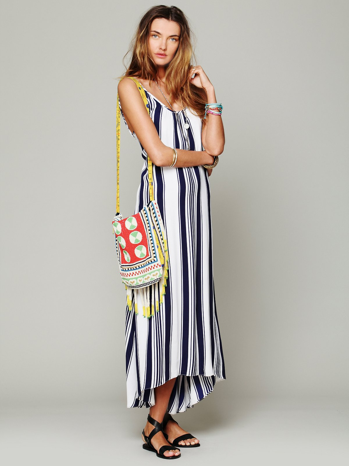 Nautical Stripe Maxi at Free People Clothing Boutique