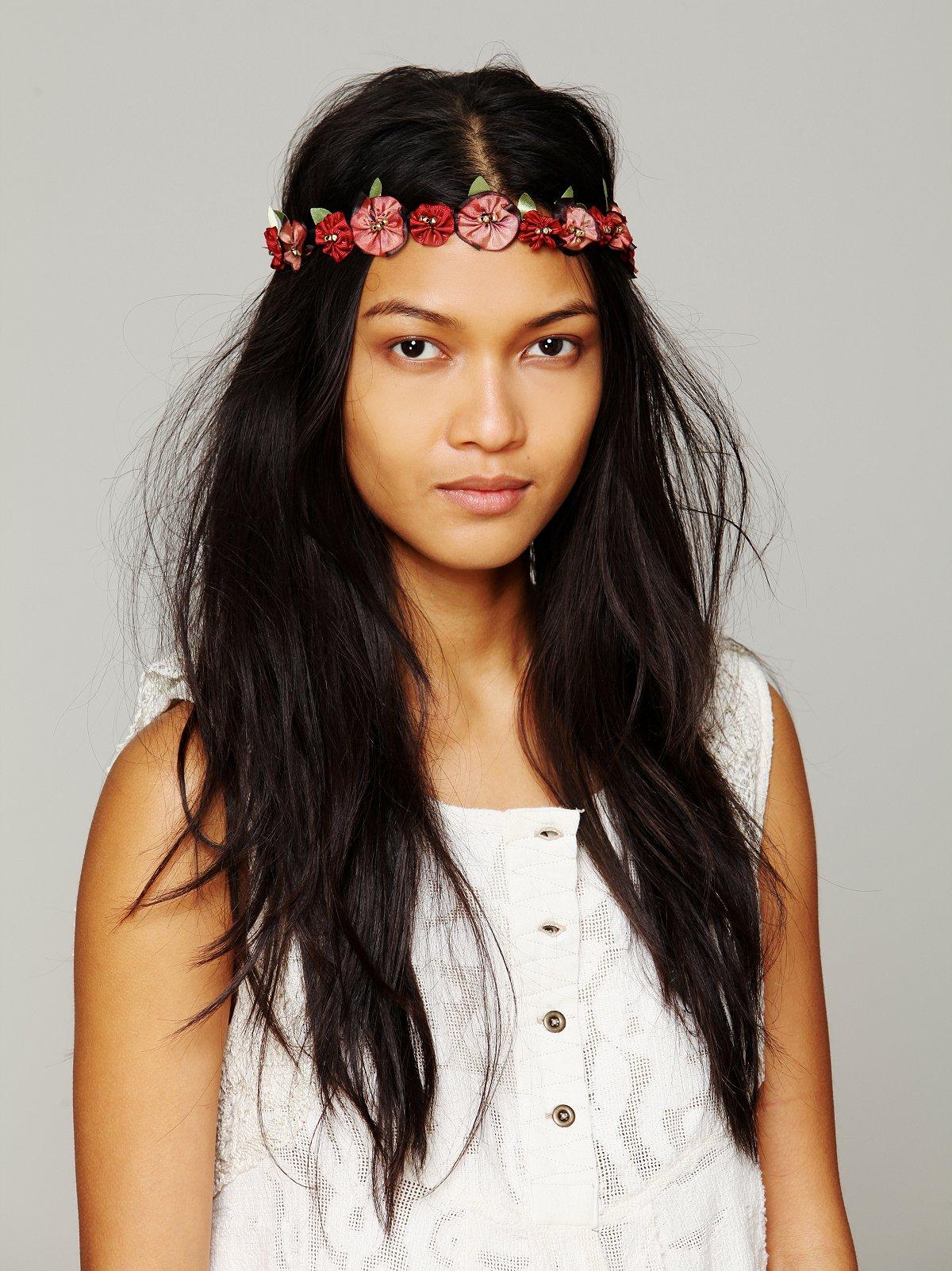 Amber Floral Headband