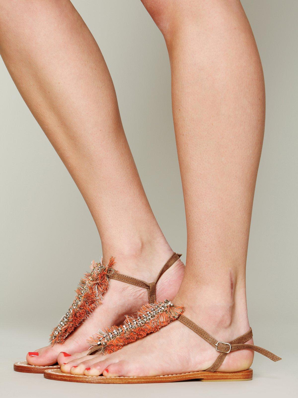 Bella Fringe Sandal