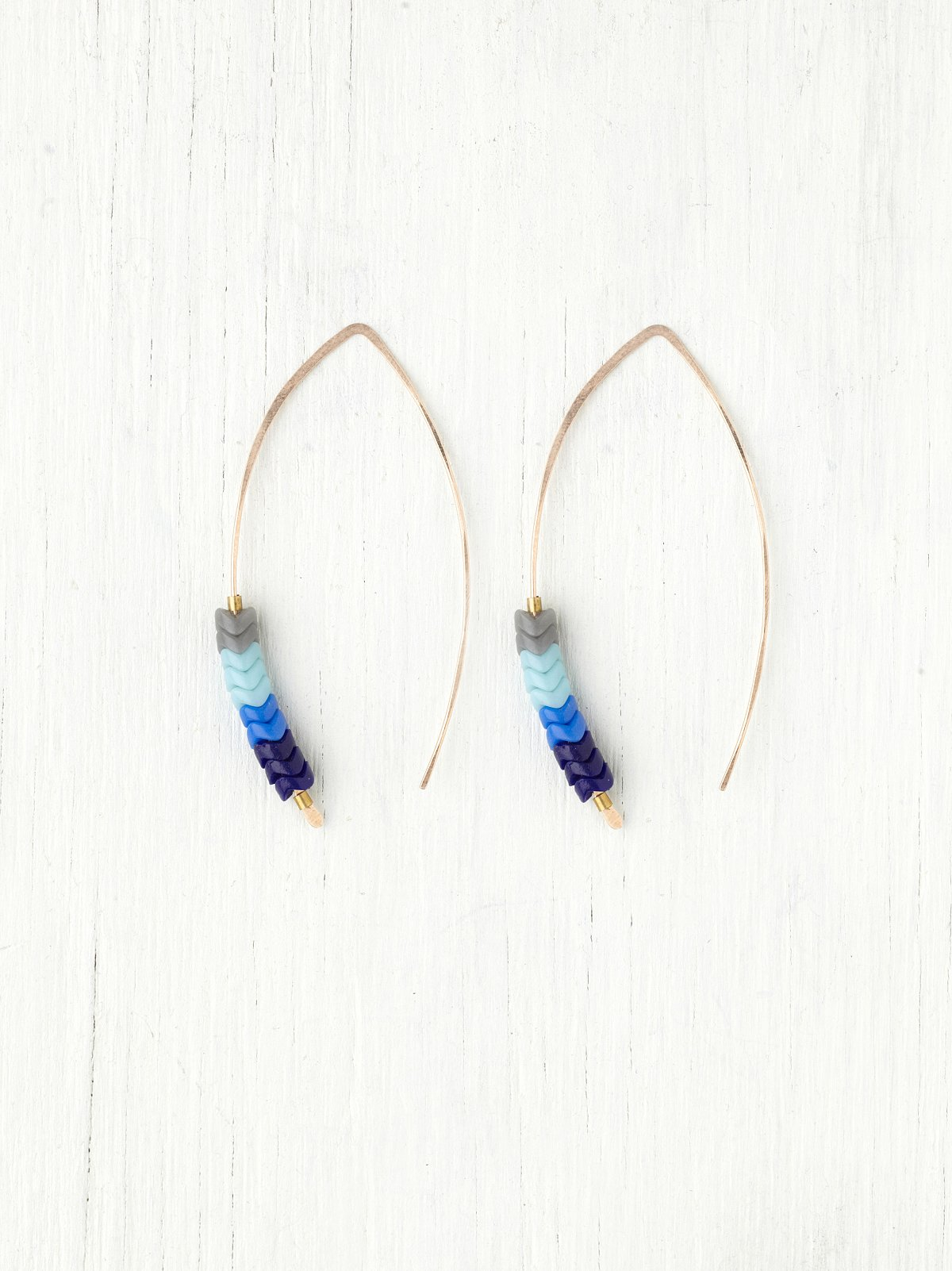 Beaded Ombre Earring