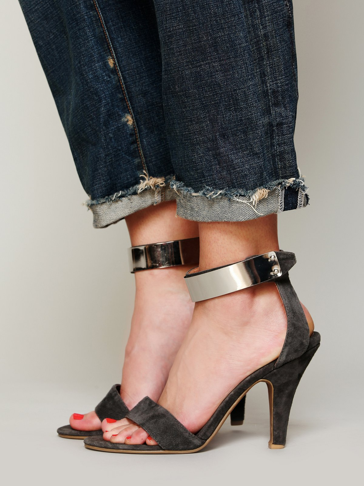 Blair Metal Strap Heel