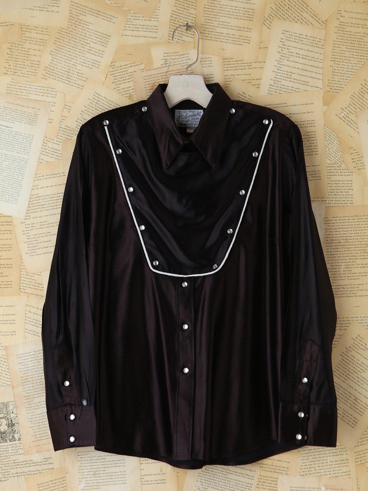 Vintage Black Western Top