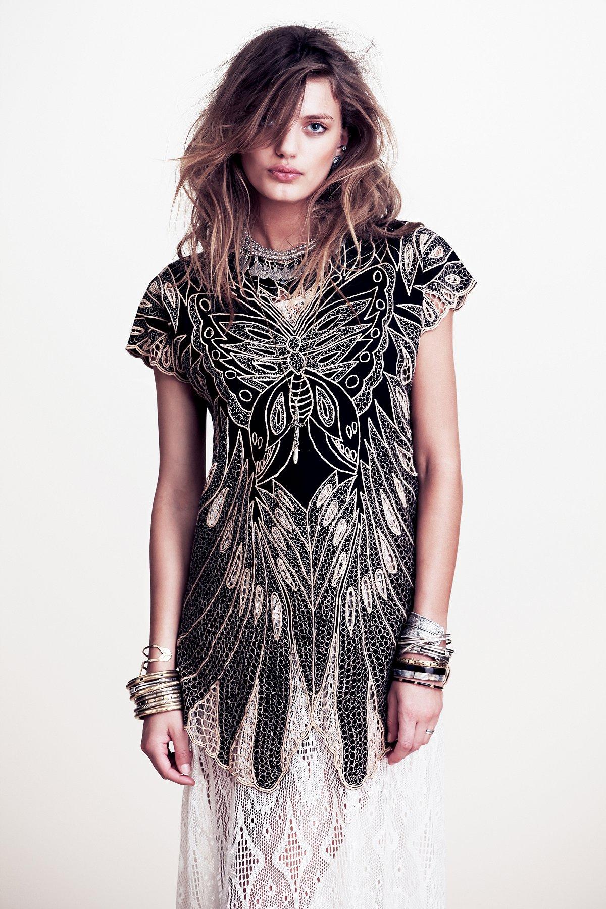 Butterfly V Dress