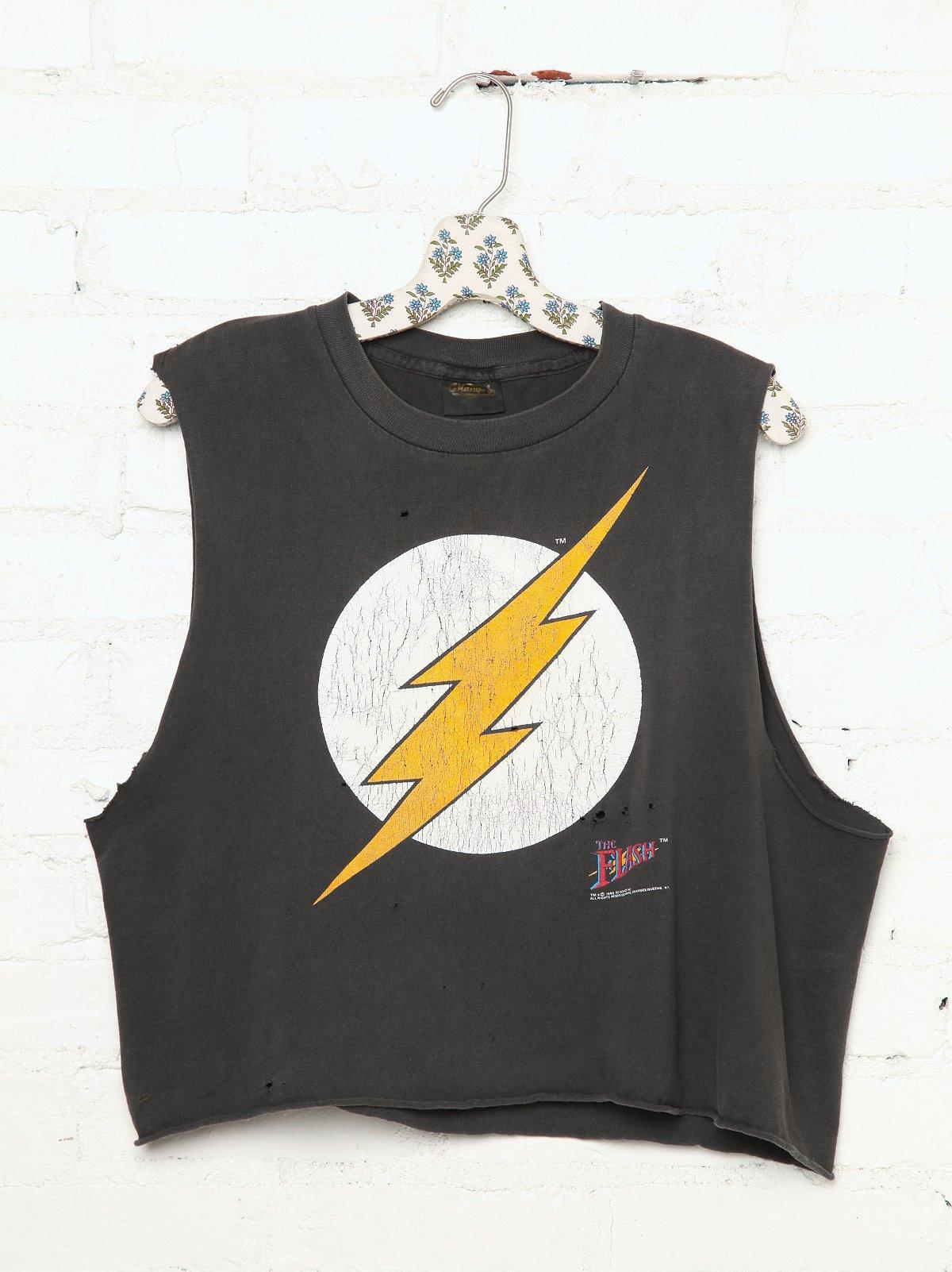 Vintage Lightning Bolt Concert Tee