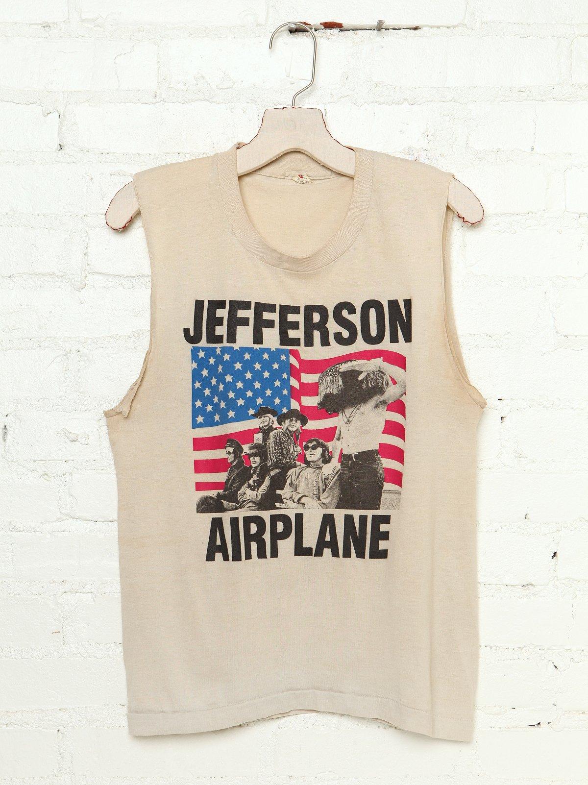 Vintage Jefferson Airplane Tank