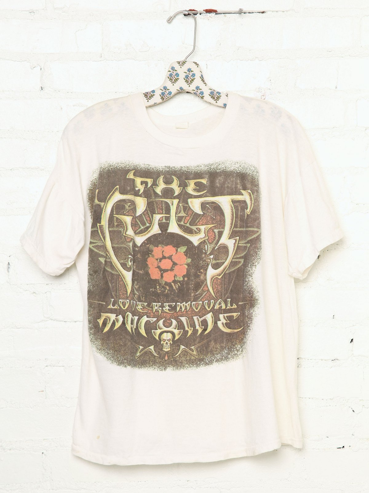 Vintage The Cult Love Removable Machine Rock Tee