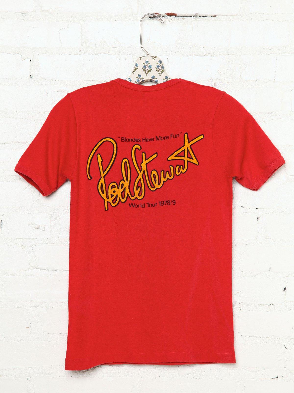 Vintage Rod Stewart Rock Tee