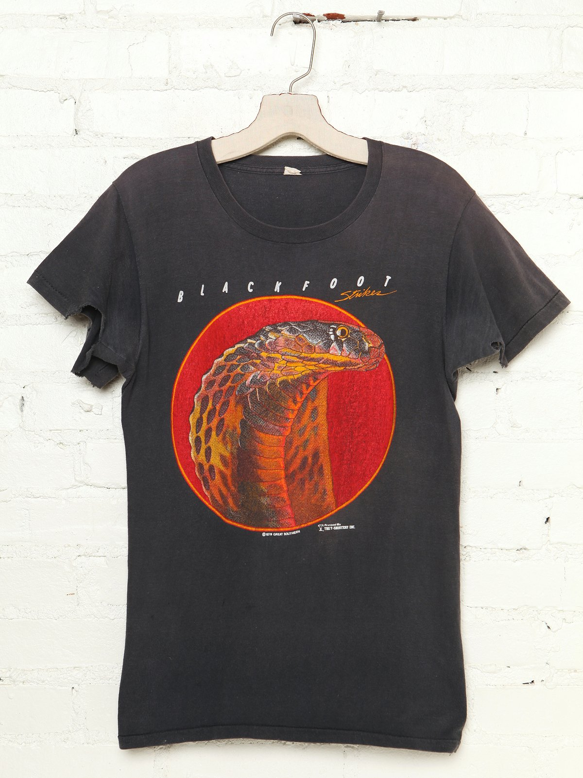 Vintage Snake Head Graphic Tee